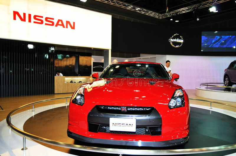Download Nissan GTR On Display Editorial Stock Photo - Image: 8105223