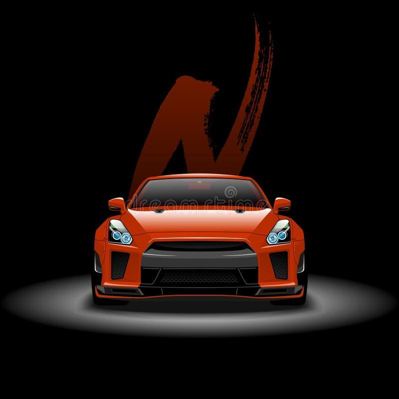 Nissan gtr gt obrazy royalty free