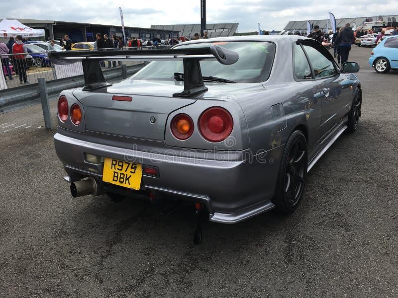 Nissan-horizon r34 royalty-vrije stock afbeelding