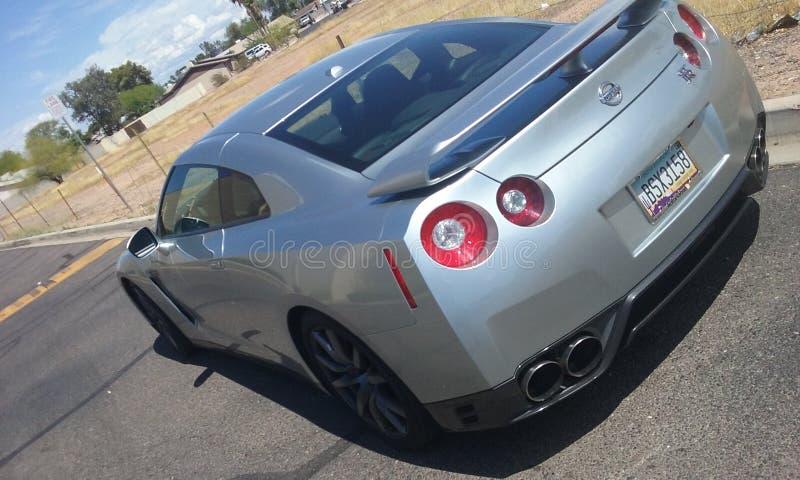 Nissan linia horyzontu obrazy royalty free