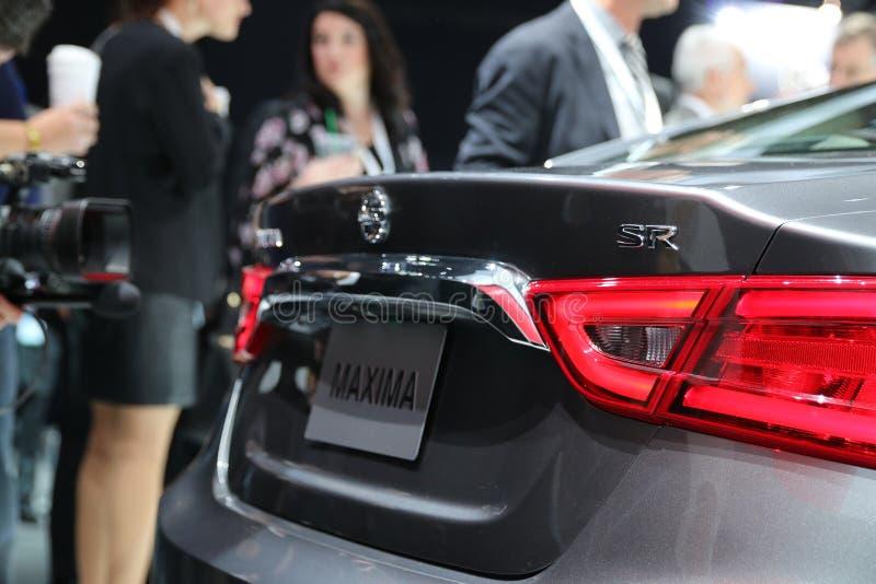Nissan Maxima 2016 images libres de droits