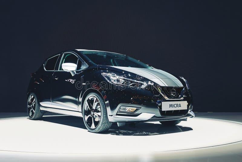 2017 Nissan Micra royalty-vrije stock fotografie