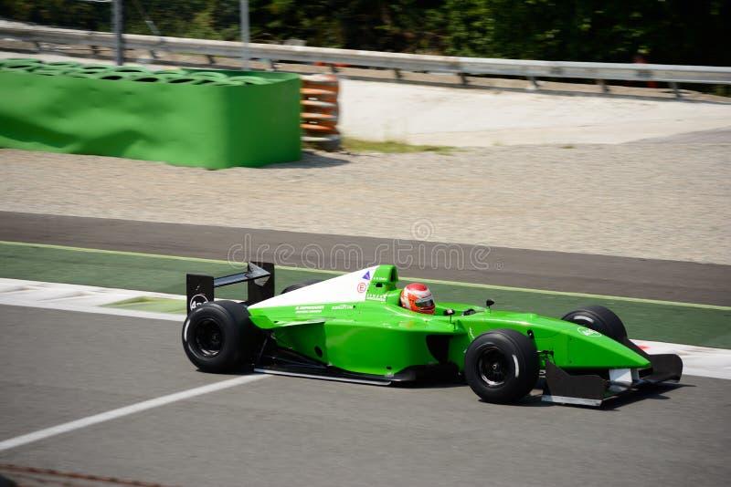 Nissan mistrzostw świata Dallara formuły samochód zdjęcie stock