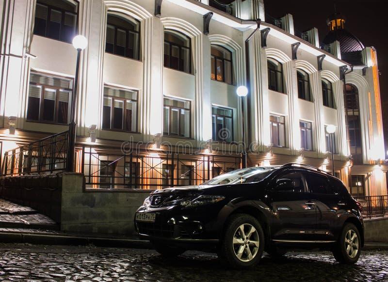 Nissan Murano Black fotografie stock