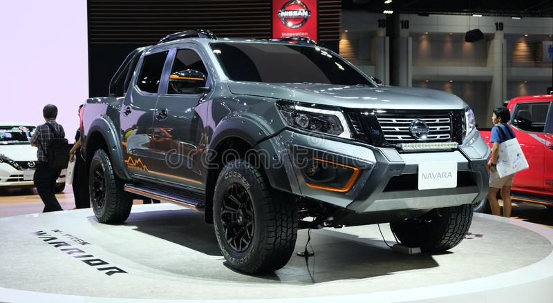 Nissan Navara N-Trek Warrior tough truck stock photos