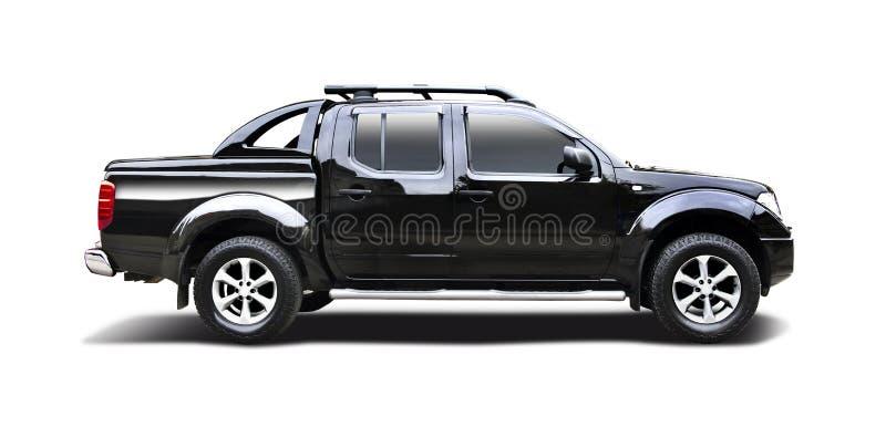 Nissan Navara negro foto de archivo