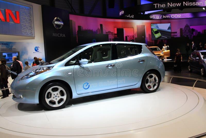 Nissan novo folheia imagens de stock royalty free