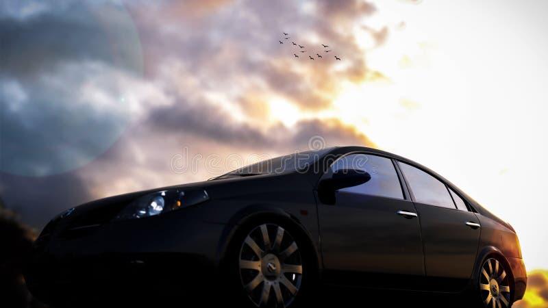 Nissan Primera obrazy stock