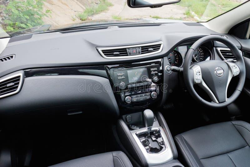 Nissan qashqai interior 2014 model editorial stock photo for Interior nissan qashqai 2014