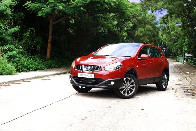 Nissan Qashqai SUV stockfotografie