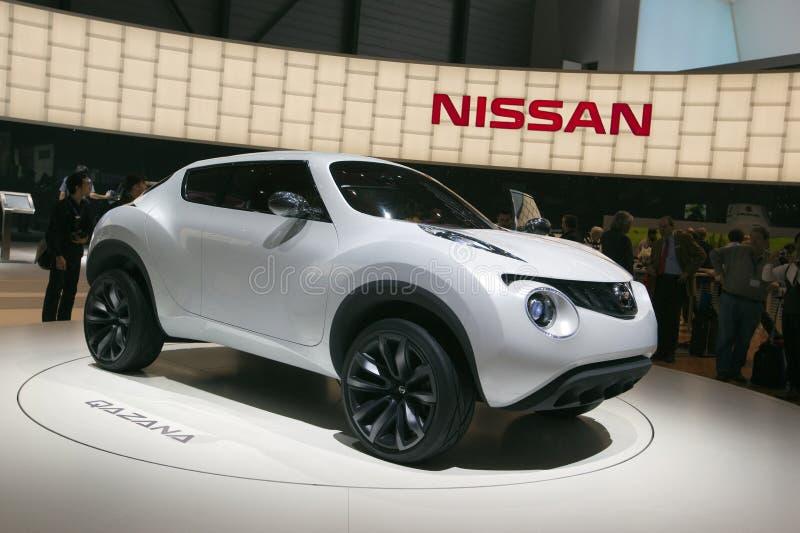 Nissan Qazana Concept 2009 Geneva Motor Show Editorial Stock Image