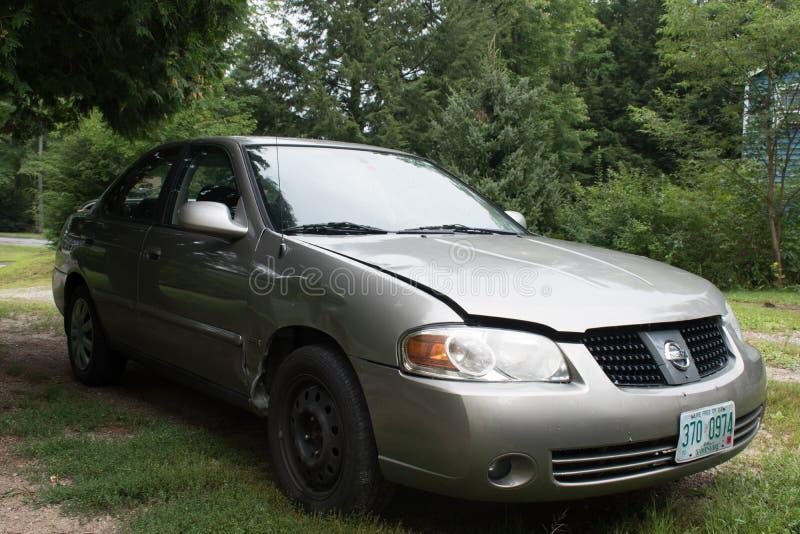 2005 Nissan Sentra στοκ φωτογραφία με δικαίωμα ελεύθερης χρήσης