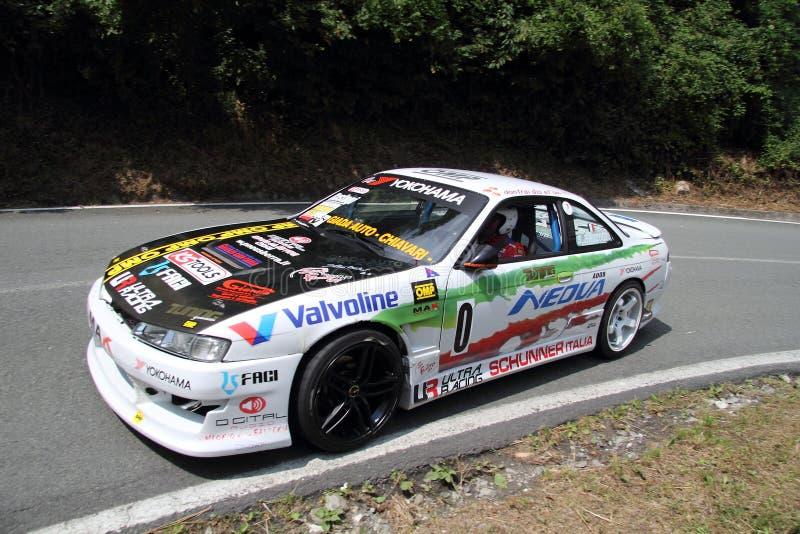 Nissan silvia racing stock photography