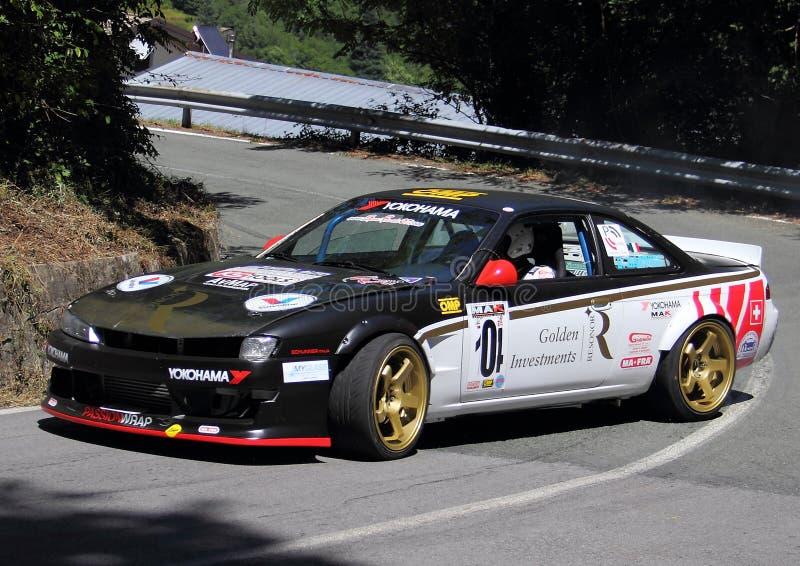 Nissan Silvia S14 royalty free stock photos