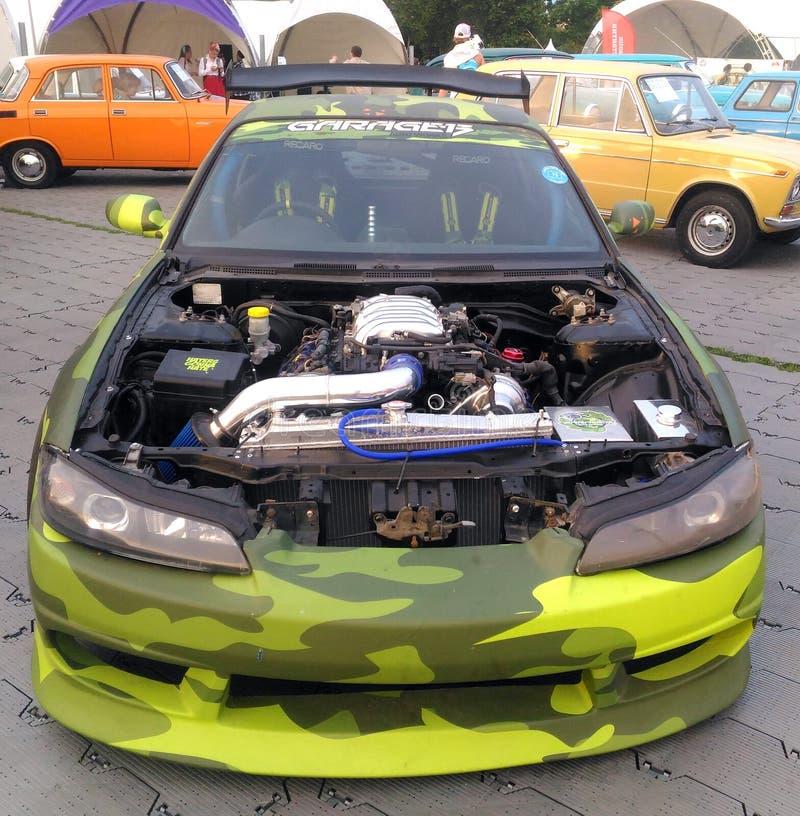 Nissan silvia s14 tuning stock photo