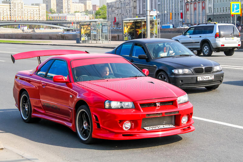 Nissan Skyline GT-r royaltyfri foto