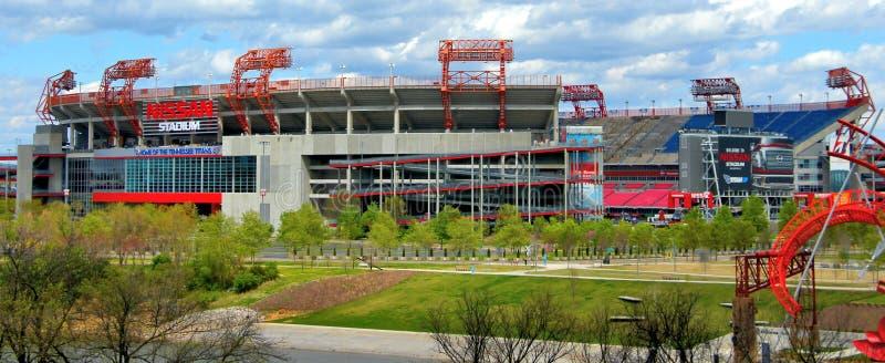 Nissan-stadion stock afbeelding