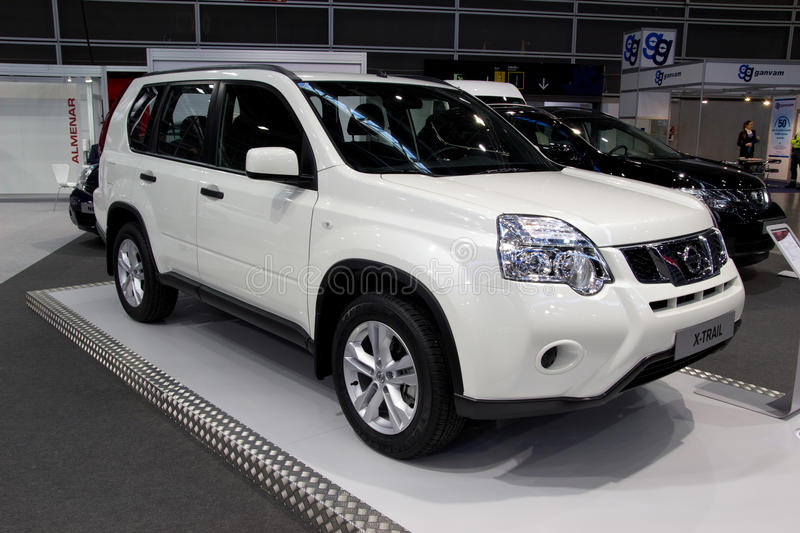 Download Nissan X-Trail editorial image. Image of front, industry - 22452400