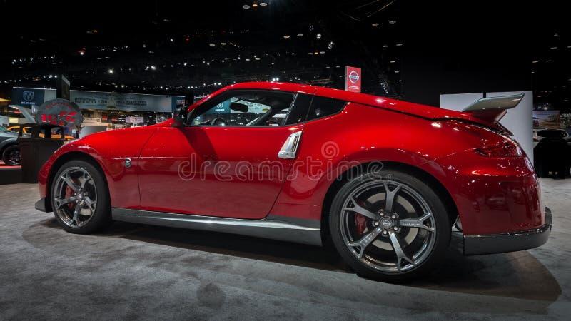 2014 Nissan 370Z obrazy royalty free