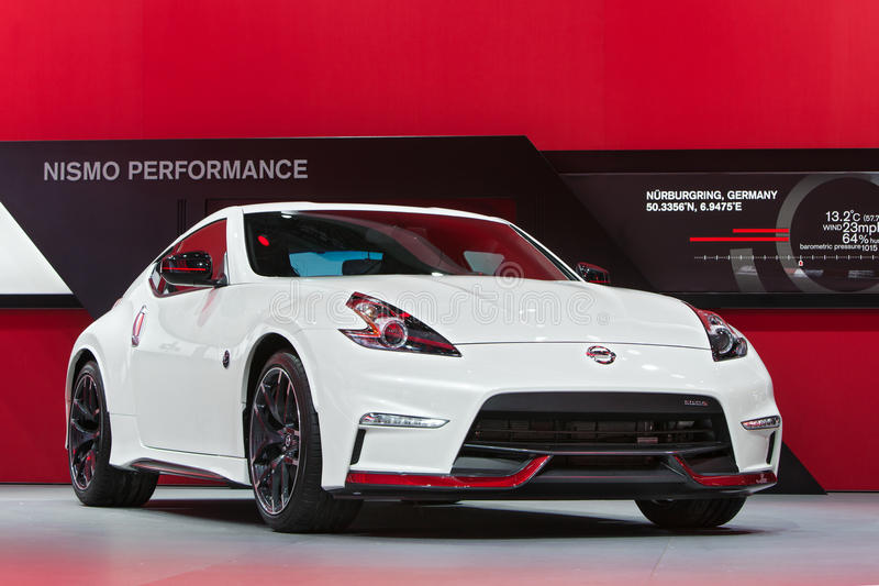 Download Nissan 370Z Nismo 2015 Detroit Auto Show Editorial Stock Photo    Image Of American,