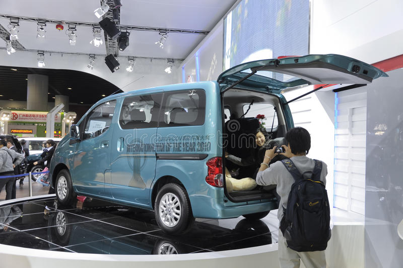 Nissans NV200 Redaktionelles Stockbild