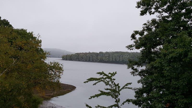 Nissequogue flod arkivbild