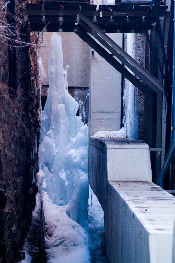 Niszczycielska alei góra lodowa obrazy royalty free