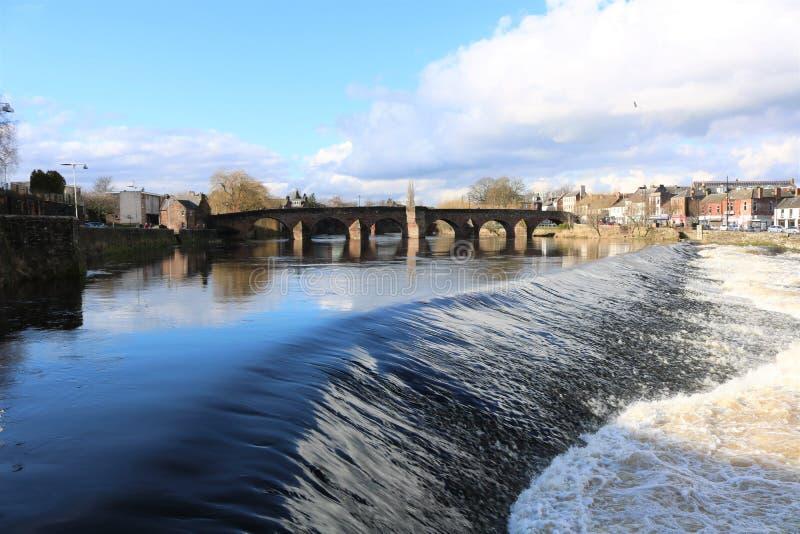 Nith del río fotos de archivo