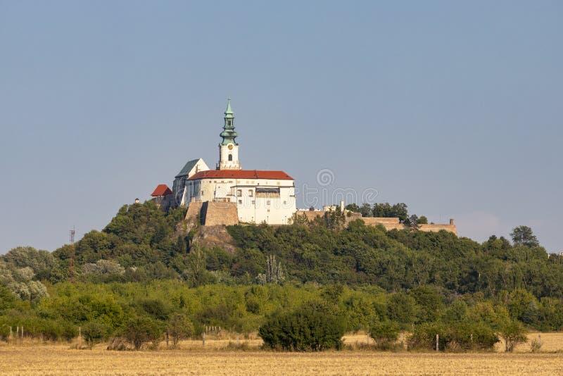 Nitra castle in Slovak Republic royalty free stock image