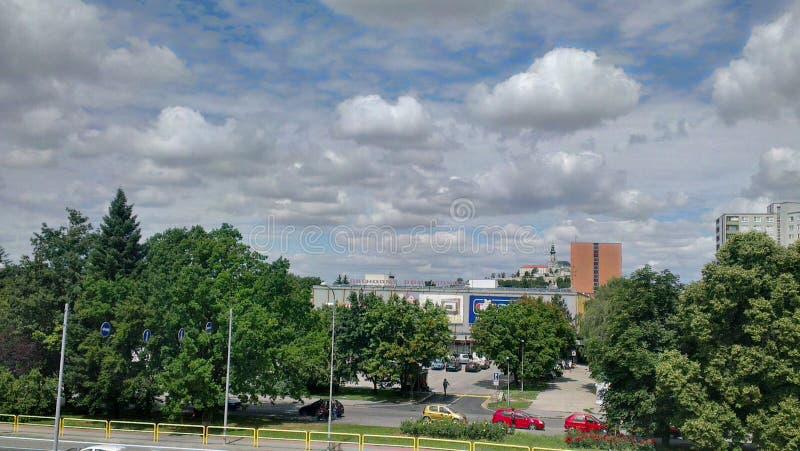 Nitra - la Slovaquie images libres de droits