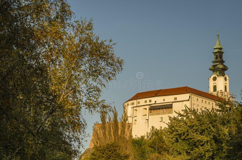 Nitra-Schloss lizenzfreies stockbild