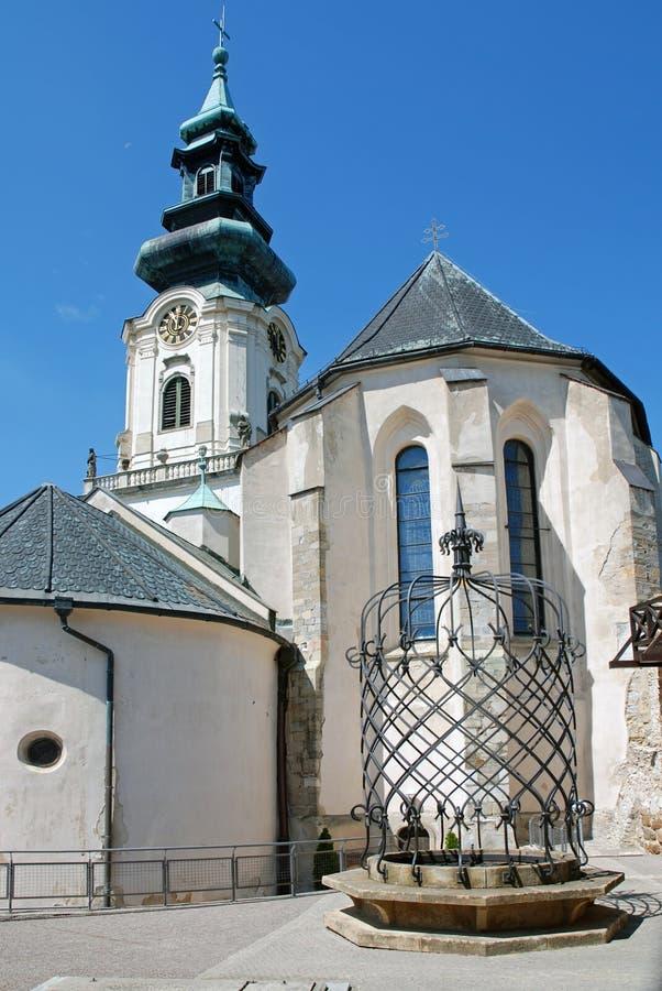 Nitra Schloss, Slowakei lizenzfreies stockfoto