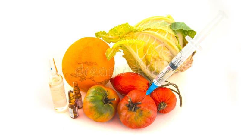 Nitrates dans les légumes photos libres de droits