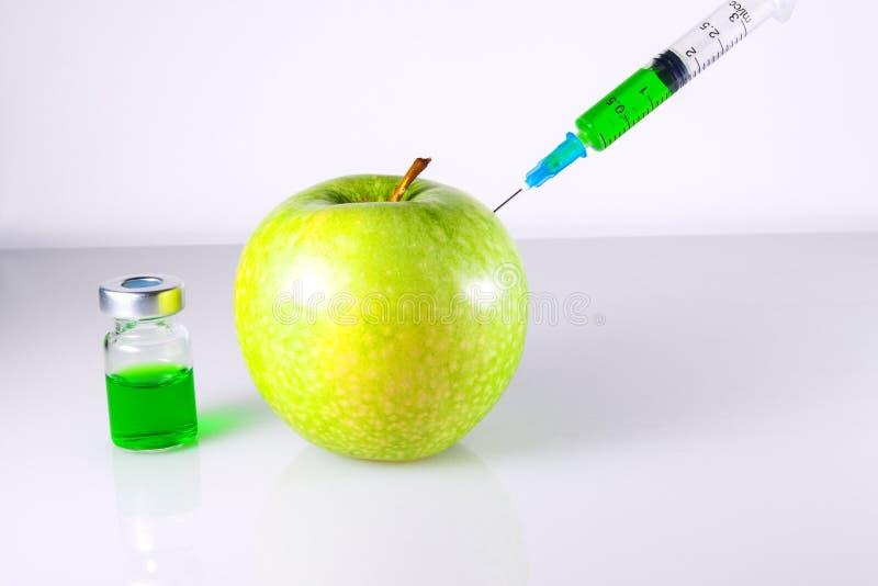 Nitrates et Apple vert image libre de droits