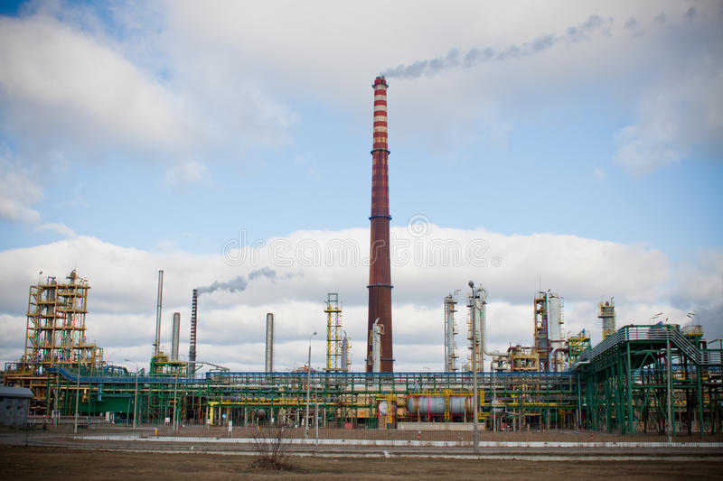 Download Nitrogen Chemical Plant In Poland Royalty Free Stock Photos - Image: 20781478