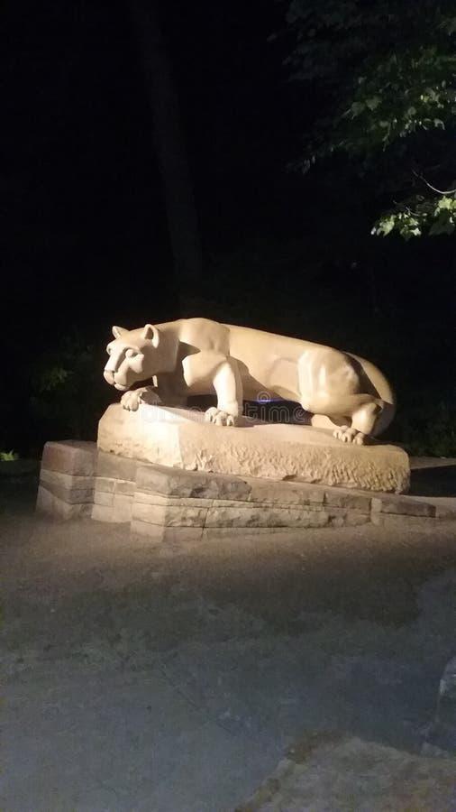 Nittany狮子寺庙,州学院 免版税图库摄影