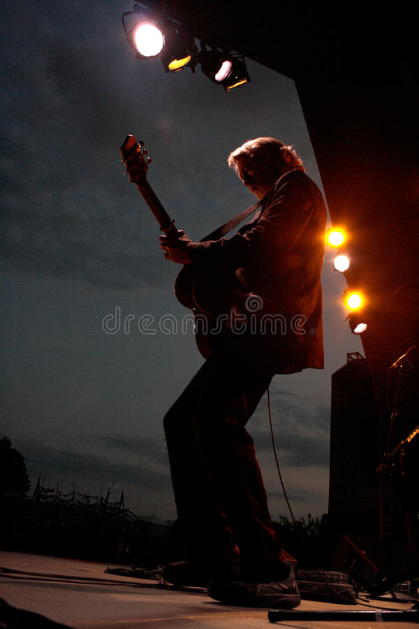 Nitty Gritty Dirt Band 2012 Bliss Music Festival stock photo
