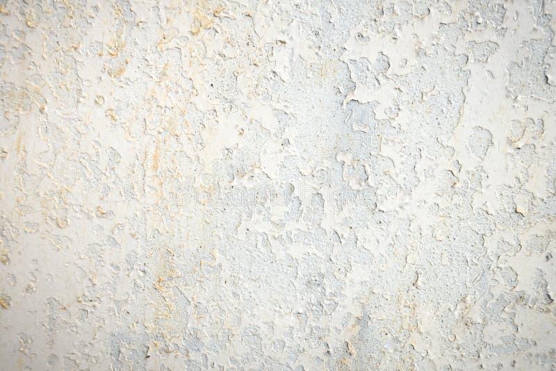 Nitujący stary wietrzejący ośniedziały biały metal zdjęcie royalty free
