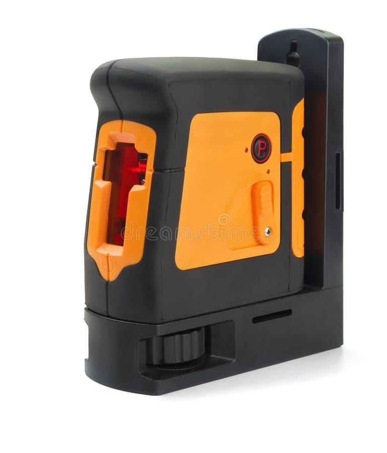 Niveau de laser photographie stock libre de droits