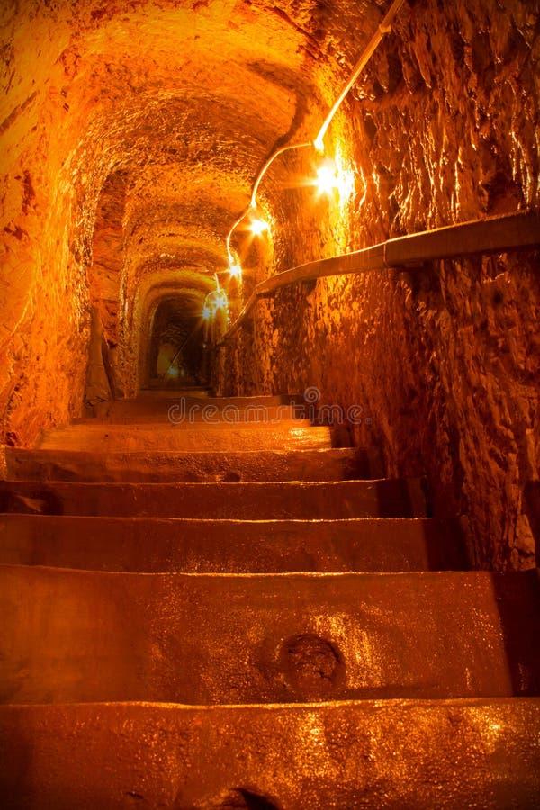 Niveau-Tunnel Khao Nam Khang 3 lizenzfreie stockfotos
