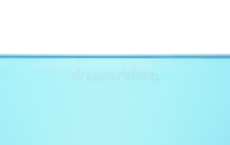 Nivel del agua aislado imagen de archivo libre de regalías