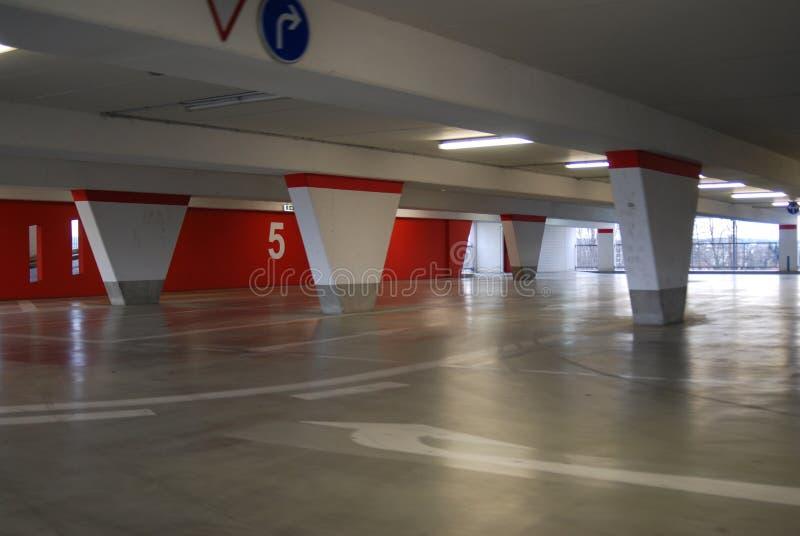 Nivel del estacionamiento foto de archivo libre de regalías