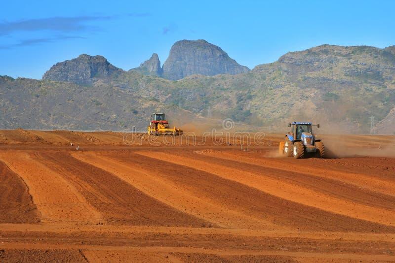niwelacja gruntów obrazy stock