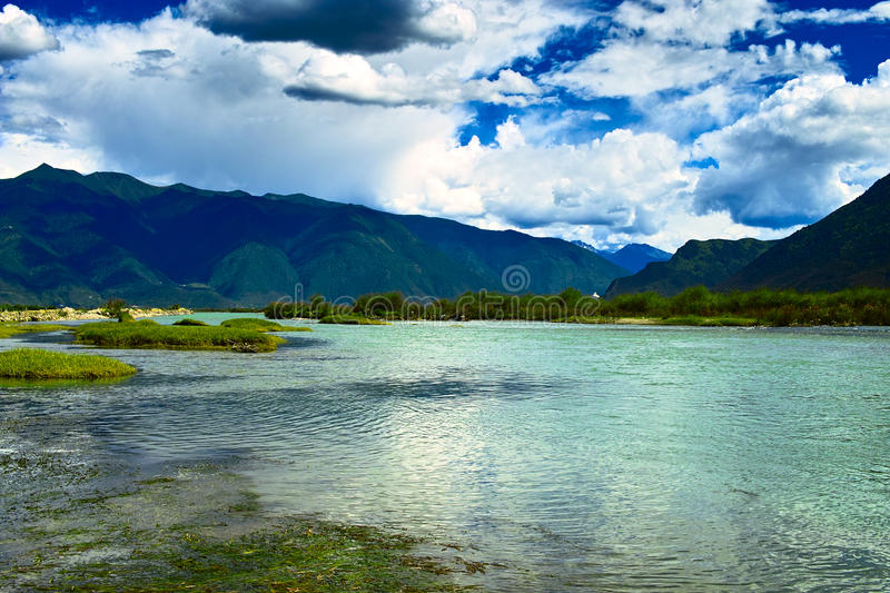 Download Niyang river stock photo. Image of clean, could, chinese - 28657764