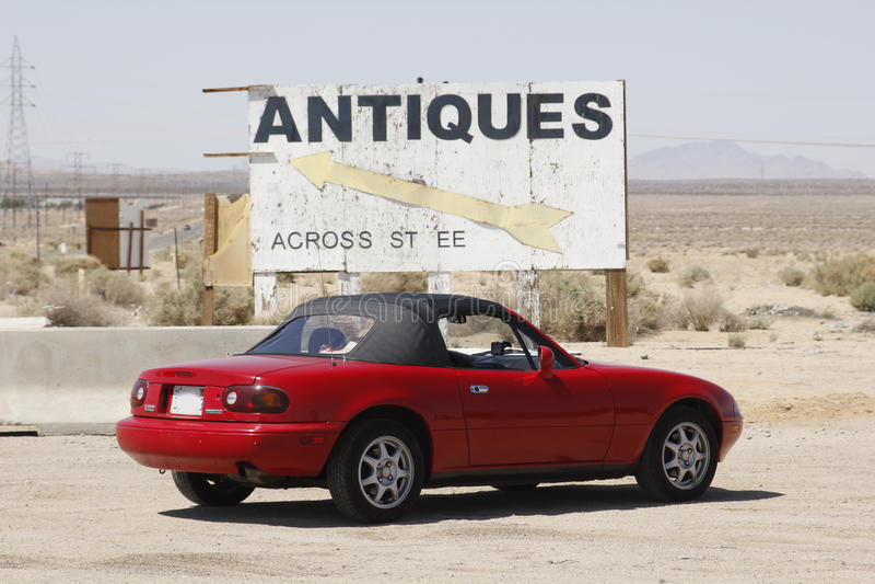 Niza una serie de Mazda Miata N1 foto de archivo