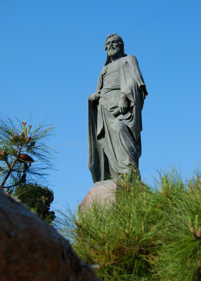 Nizami Ganjavi – 12th century Azerbaijani poet stock image