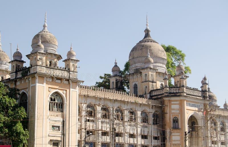 Nizamia-Krankenhaus, Hyderabad stockfotografie