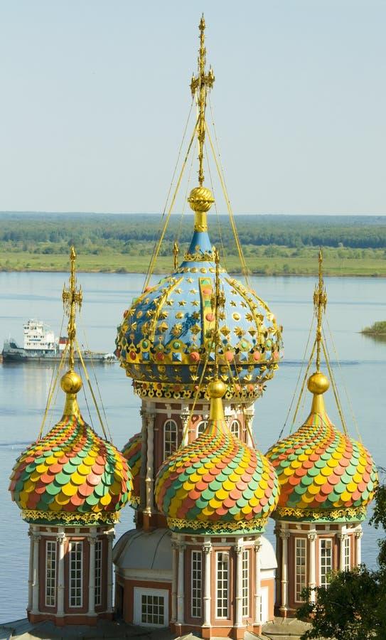 Nizhni Novgorod, iglesia de Stroganovskaya foto de archivo libre de regalías