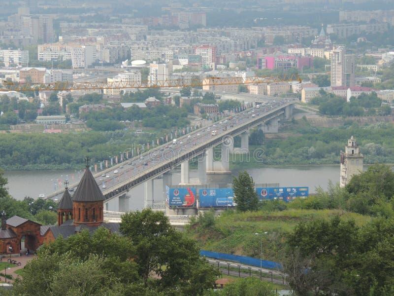 Nizhniy Novgorod är perfektstaden royaltyfria foton