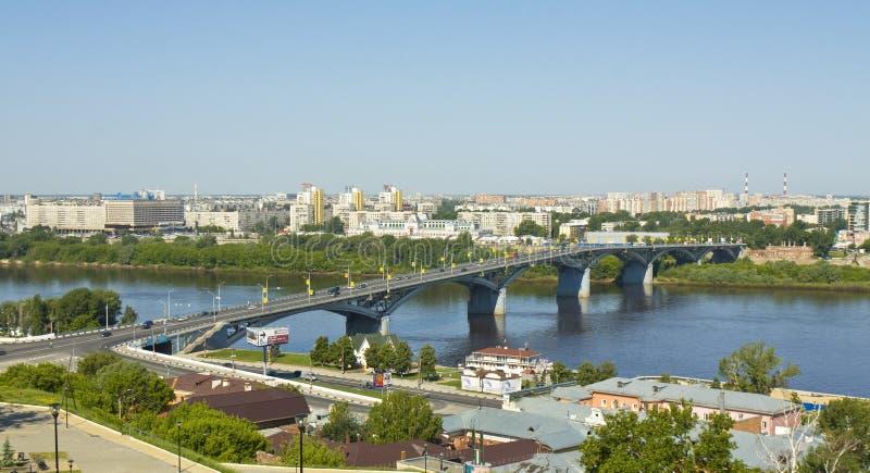 Nizhniy Novgorod, Ρωσία στοκ φωτογραφία με δικαίωμα ελεύθερης χρήσης